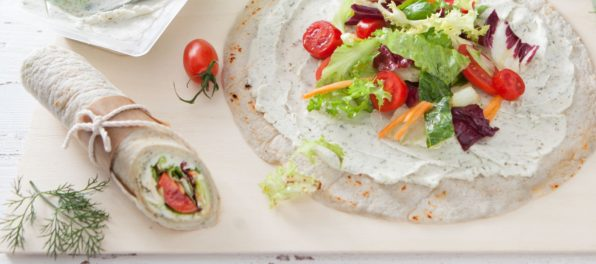 Tzatziki Tortillas