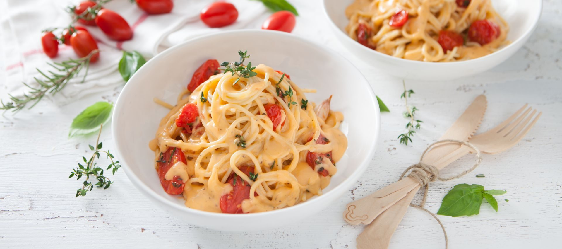 Creamy Summer Linguini