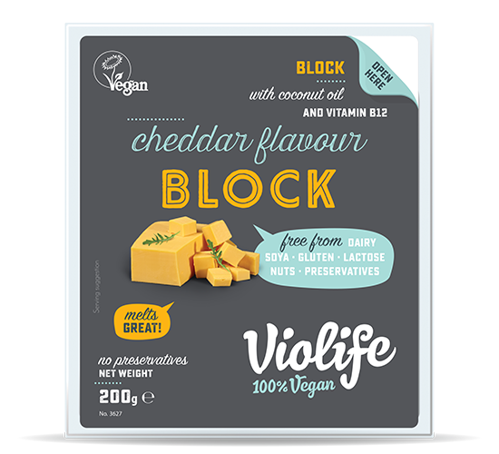 Cheddar flavour Blocks 200G