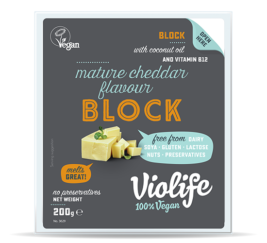 mature cheddar flavour Block 200G