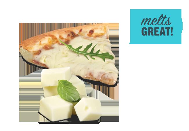 mozzarella pizza block