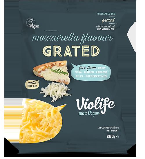 Mozzarella Flavour Grated