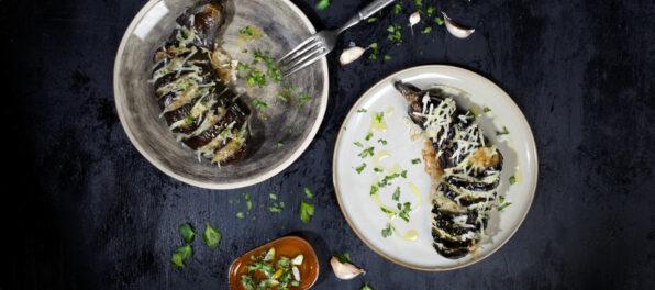 Violife Grilled Aubergines