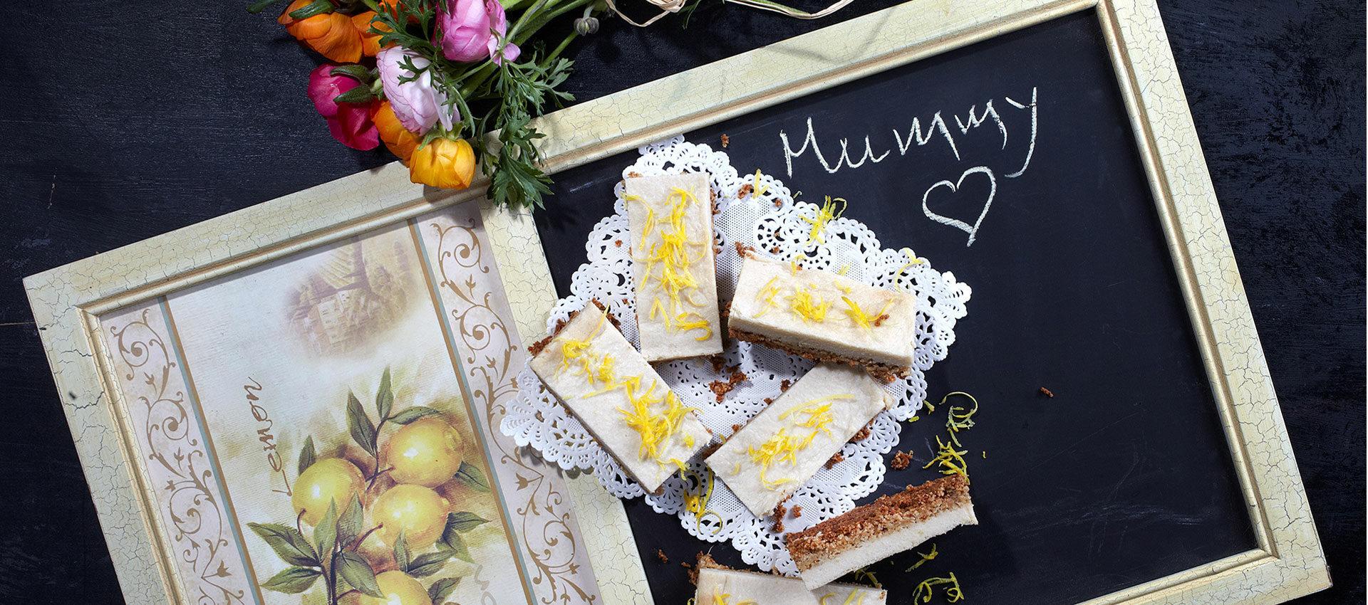 Violife Creamy lemon bars