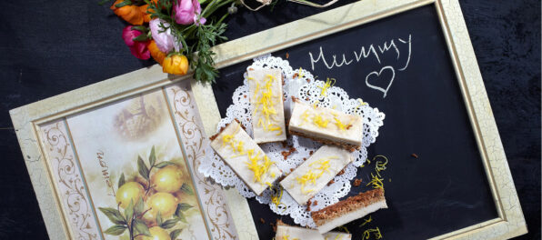 Violife Creamy lemon bars