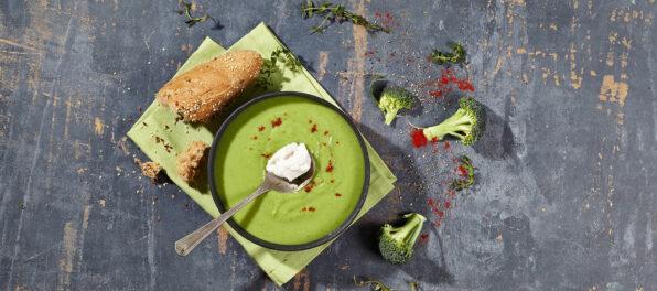 Violife Vegan Broccoli Soup