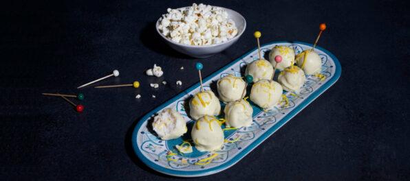 popcorn truffles